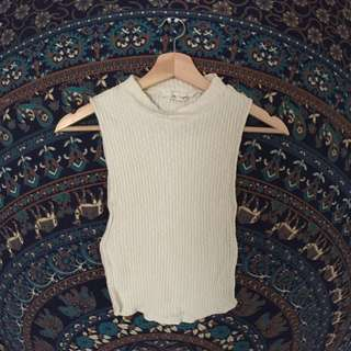 SMALL - Silence+Noise Knitted Turtle Neck