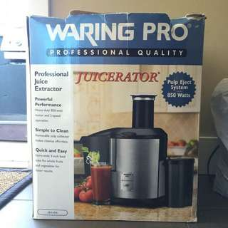 Waring Pro Professional Juicer Extractor