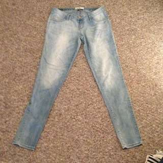 Light Wash Garage Jeans