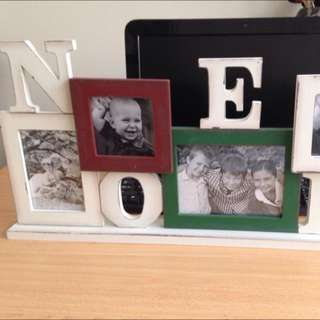 Photo frames home decor stand Colorful