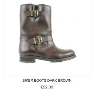 Wills London Vegan Biker Boots