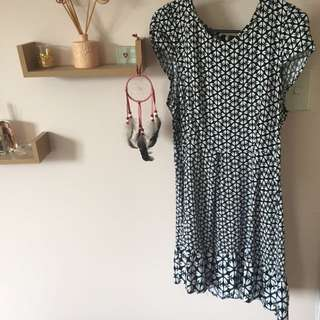 Beautiful Dotti Drop Hem Dress Size 14