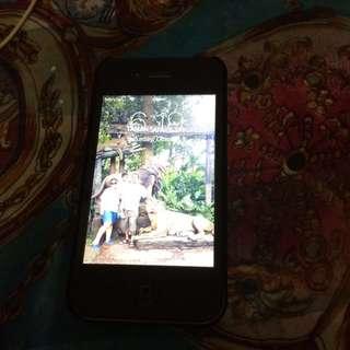 iPhone 4 Hitam 8G