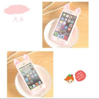 Iphone 7 / 7 Plus Kitty Kitten Cat Design Silicone Soft Casing