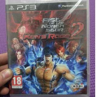 Fist of the North Star: Ken's Rage 2 PS3 New&Sealed