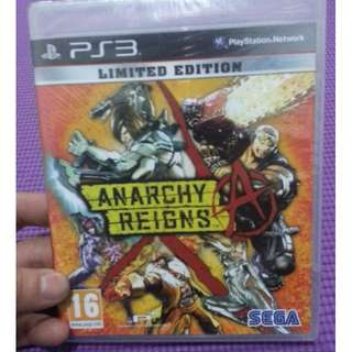 Anarchy Reigns: Limited Edition PS3 New&Sealed