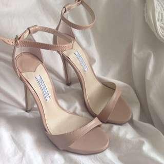 Tony bianco nude heels size 6