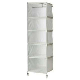 Ikea衣物儲物格(白) 可移動