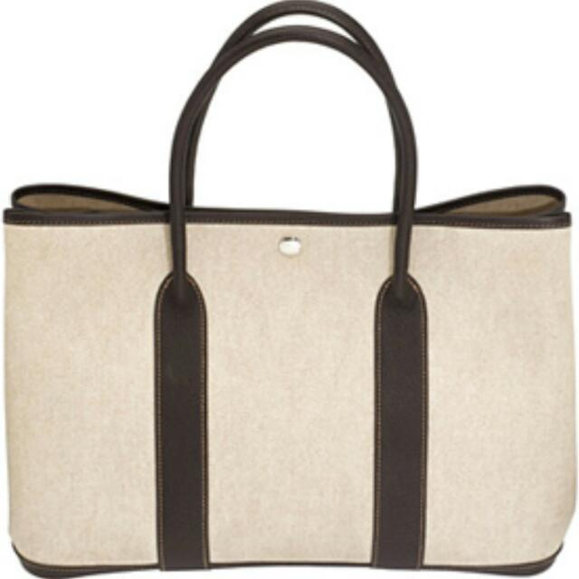 5f071b603a5e FAST DEAL- NEVER USED 100% Authentic HERMES garden Bag. AMAZING DEAL ...