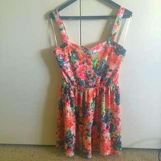 Valleygirl Floral Summer Dress