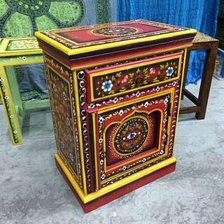 印度特色床頭櫃 India Bedside Cabinet