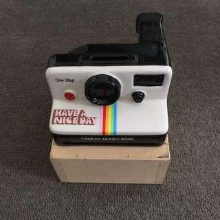 Vintage Polaroid Money Bank