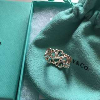 *** PENDING PAYMENT *** Tiffany & Co. Paloma Picasso Loving Heart Band Ring Size 6