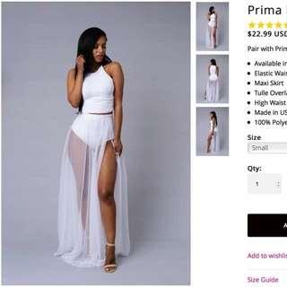 Fashion Nova Prima Donna Skirt