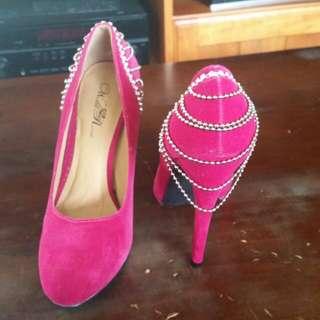 Sexy Pink Heels
