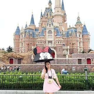 迪士尼米妮立體傘