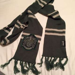 Official Harry Potter Merch slytherin Scarf