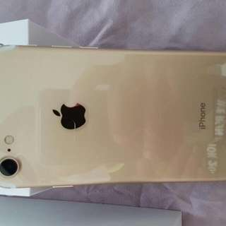 Brand New Gold iPhone 7 128GB