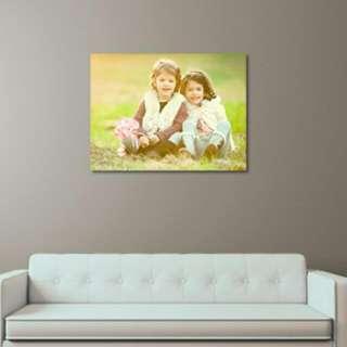 Customize Photo Canvas
