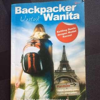 Buku Backpacker Untuk Wanita