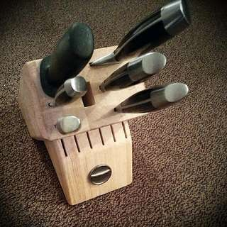 Kitchen Aid Knife Block Set