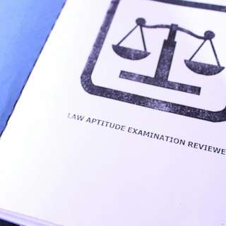 Law Aptitude Exam Reviewer (For UP LAE)