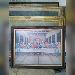 Lukisan Gambar Last Supper