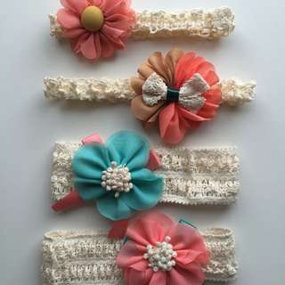 Baby Girls Flower Headbands