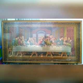 Lukisan Wool Last Supper