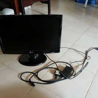 "Lelong LED Monitor 20""!"