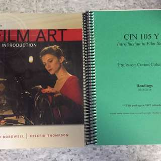 UofT CIN105 Textbook And Course Reader