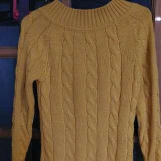 長版長袖毛衣