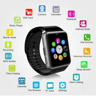 SMARTWATCH FOR IPHONE SAMSUNG CALLS SIMCARD MEMORY SLOT