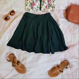 [RESERVED] Gray Skater Skirt