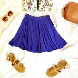 [RESERVED] Purple Skater Skirt