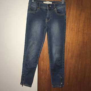 Girls Size 10 3/4 Jeans