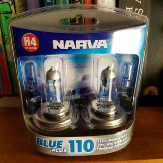 Narva Blue Plus 110 Lights H4