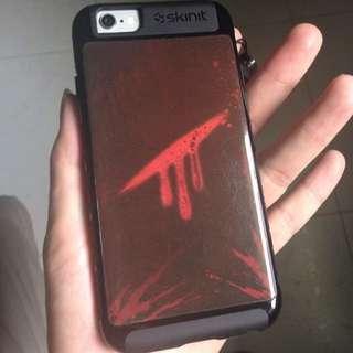Blood Mark iPhone 6 Case