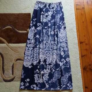Blue Maxi Dress Size 10