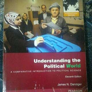 政治學原文書(understanding the Political World)