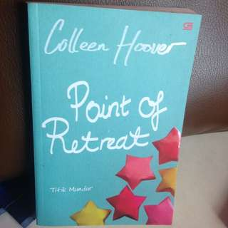 Novel Point Of Retreat By Collen Hoover