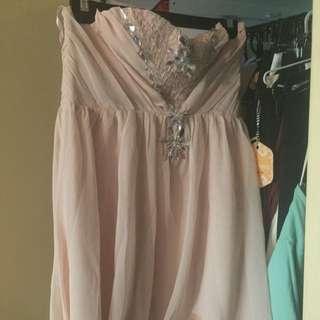 Size 14 (L) Pink Ally Dress
