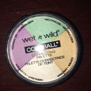 Wet N Wild Correcting Palette
