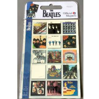 The Beatles Official Magnets - 15 Albums