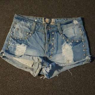 Boohoo Denim Shorts
