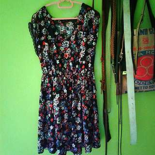 New Look Floral Printed Dress