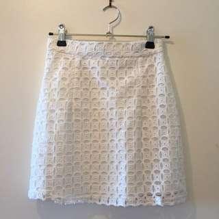 White Skirt - Size 6