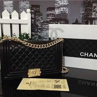On Hand Chanel Le Boy GHW