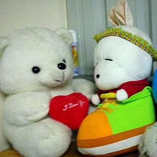 娃娃 賤兔 小熊