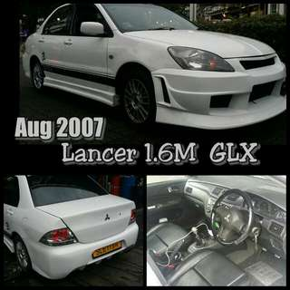 Aug 2007 Mitsubishi Lancer 1.6m GLX  2 Owner
